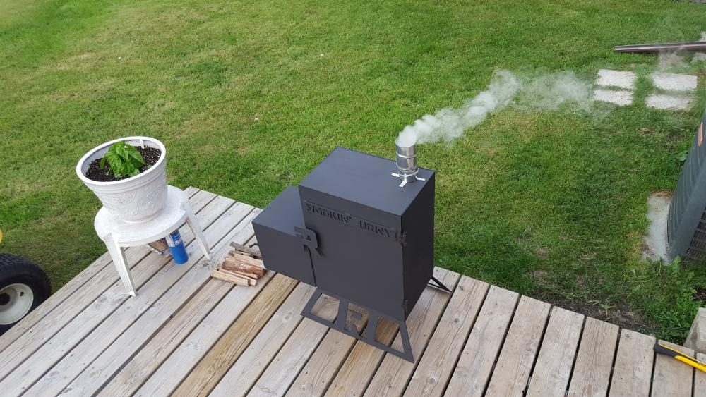 Finally, a Smoker I Can Call My Own - Grills and Smokers