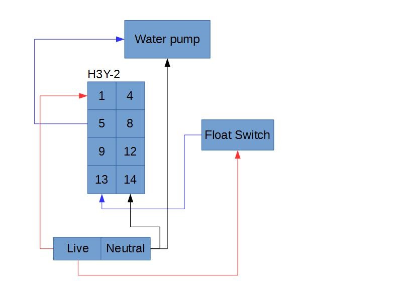 relay advice anyone check this wiring diagrams for me grow tech rh thehotpepper com Live Well Timer Wiring Diagram Pool Timer Wiring Diagram